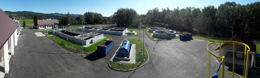 Oczyszczalnia ścieków w Łopusznej po modernizacji